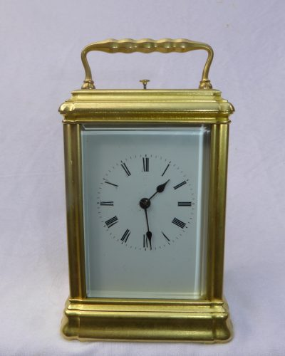French Gorge case repeating carriage clock